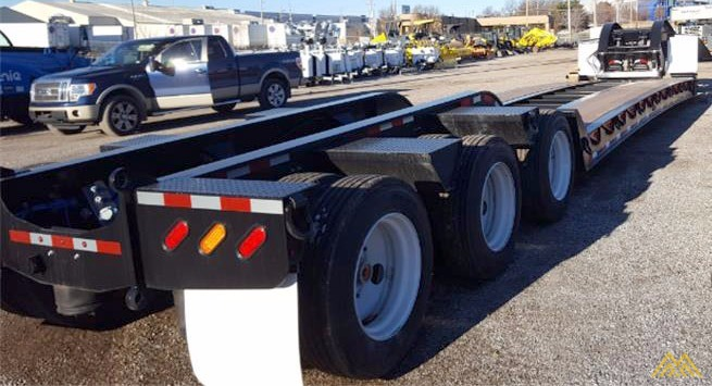 110,000 lbs Interstate 110SDGN Gooseneck Lowboy Trailer  0