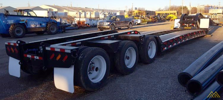 110,000 lbs Interstate 110SDGN Gooseneck Lowboy Trailer  3
