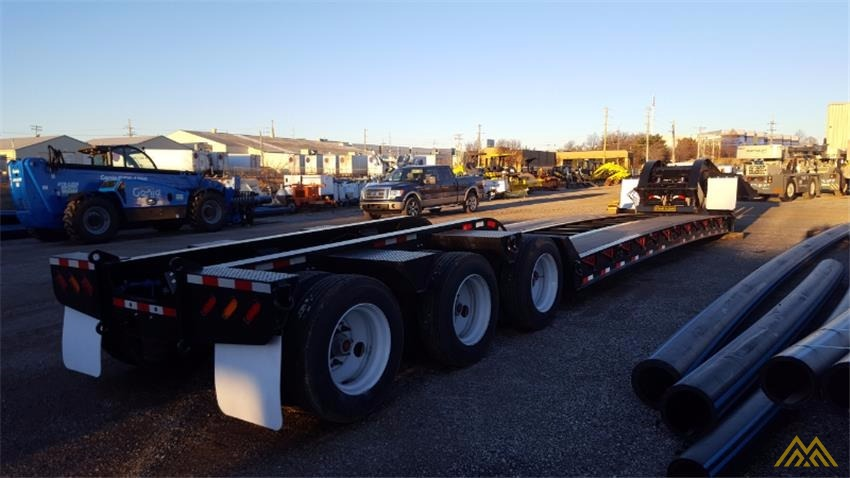 110,000 lbs Interstate 110SDGN Gooseneck Lowboy Trailer  4