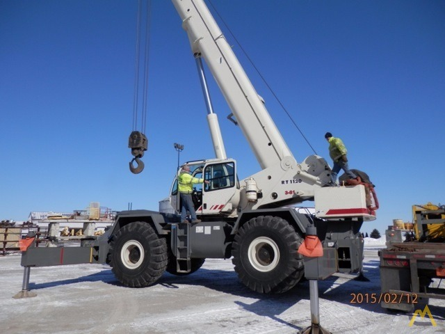 Terex RT 1120 120-Ton Rough Terrain Crane 0