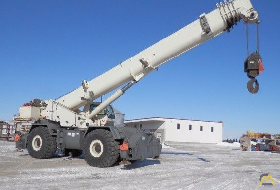 Terex RT 1120 120-Ton Rough Terrain Crane 1