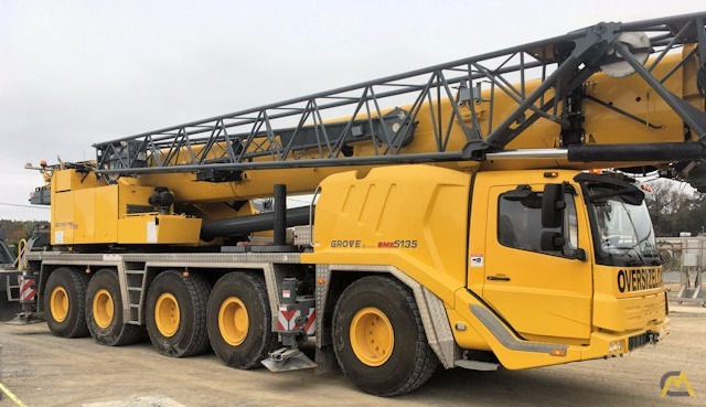 Grove GMK5135 135-Ton All Terrain Crane 1