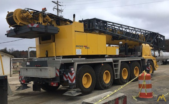 Grove GMK5135 135-Ton All Terrain Crane 2