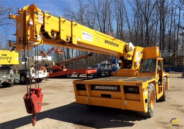 Broderson IC-200-3H 15-Ton Carry Deck Crane 0