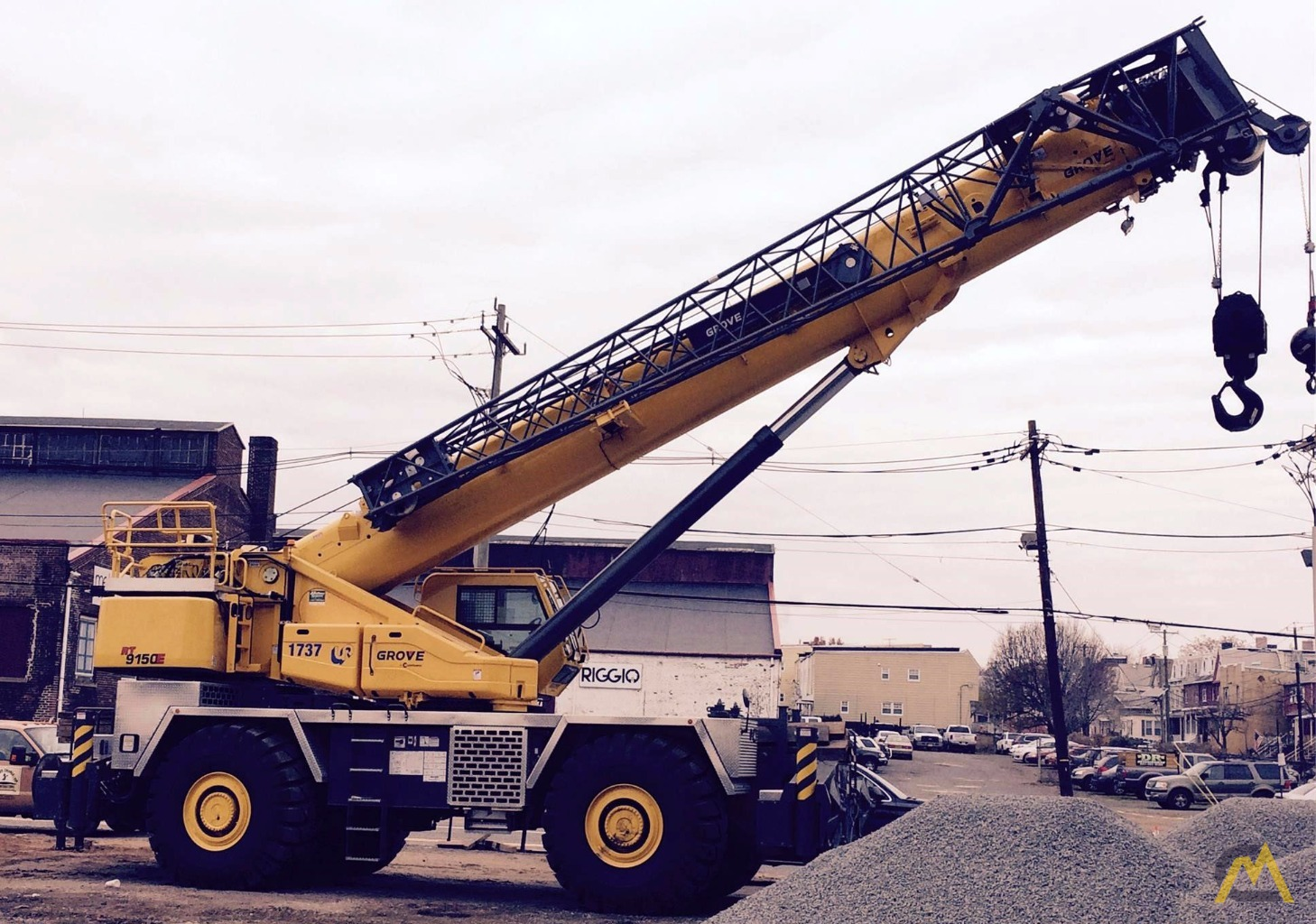 Grove RT9150E 150-ton Rough Terrain Crane 0