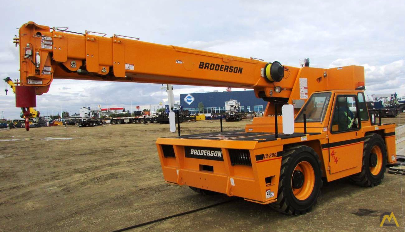 15t Broderson IC-200-3H Carry Deck Crane 0