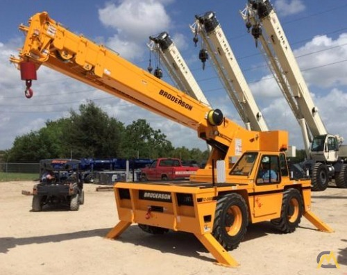 Broderson IC-200-J 15-ton Industrial Carry Deck Crane 1