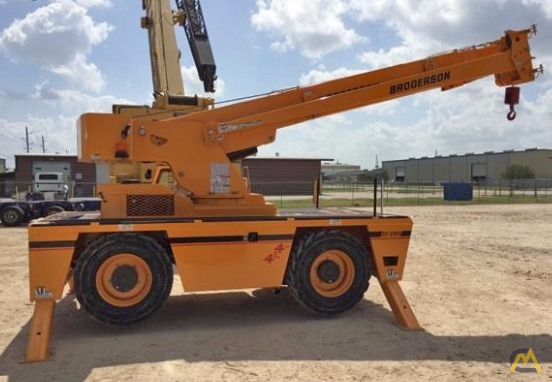 Broderson IC-200-J 15-ton Industrial Carry Deck Crane 2