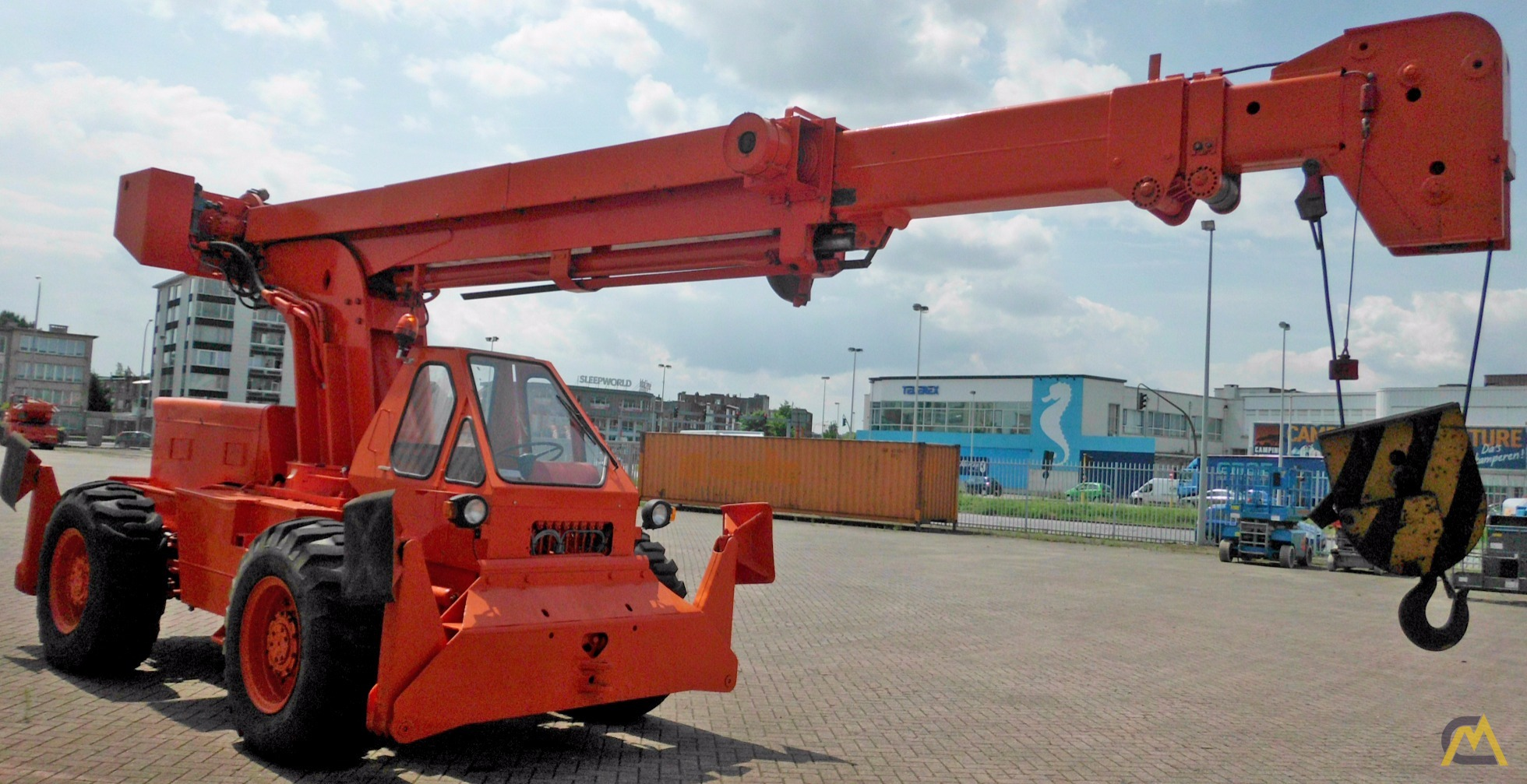 15t Galion 150A Down Cab Rough Terrain Crane 0
