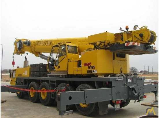 Grove GMK5165 165-Ton All Terrain Crane 3