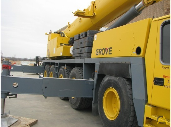 Grove GMK5165 165-Ton All Terrain Crane 5