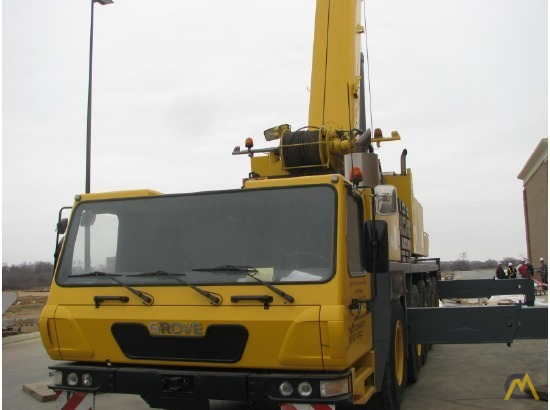 Grove GMK5165 165-Ton All Terrain Crane 4