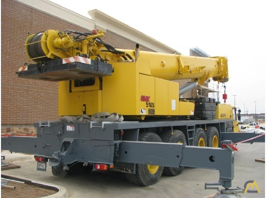 Grove GMK5165 165-Ton All Terrain Crane 10