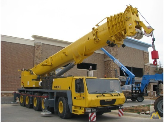 Grove GMK5165 165-Ton All Terrain Crane 6