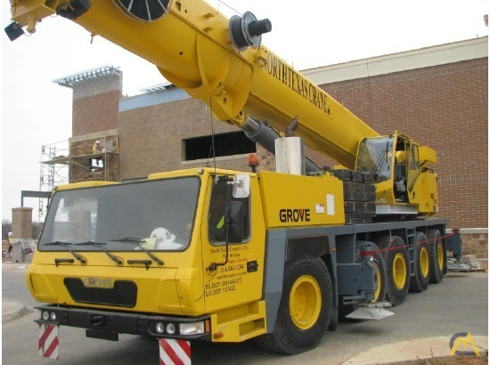 Grove GMK5165 165-Ton All Terrain Crane 11