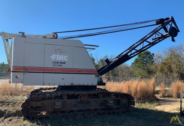 1967 Link-Belt HC-108B 45-Ton Lattice Boom Truck Crane 0