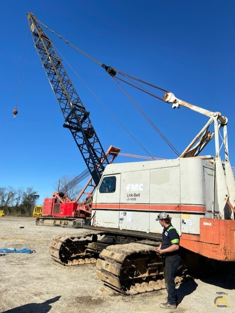 1967 Link-Belt HC-108B 45-Ton Lattice Boom Truck Crane 3