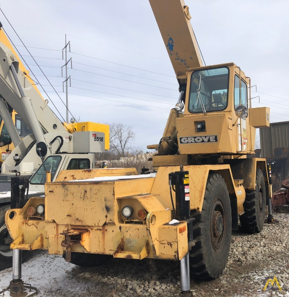 1979 Grove RT522 22-Ton Rough Terrain Crane 0