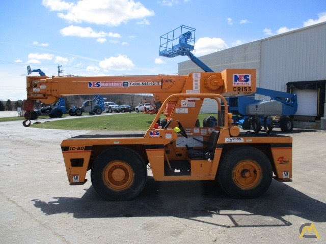 1997 Broderson IC80-2E 8-Ton Carry Deck Crane