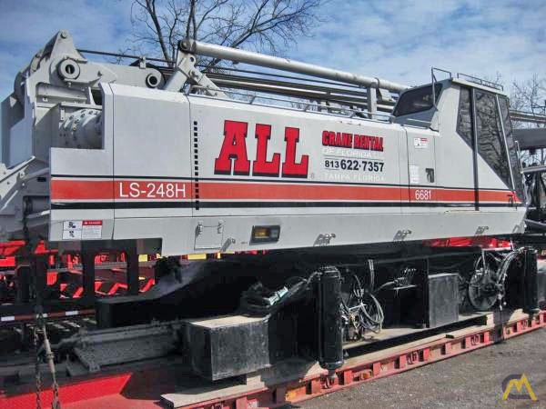 1998 Link-Belt LS-248HII 200-Ton Lattice Boom Crawler Crane 0