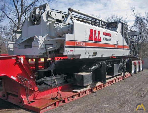 1998 Link-Belt LS-248HII 200-Ton Lattice Boom Crawler Crane 1