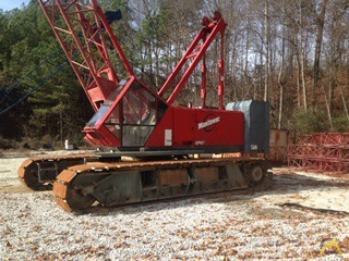 1998 Manitowoc 222EX 100-Ton Lattice Boom Crawler Crane 10