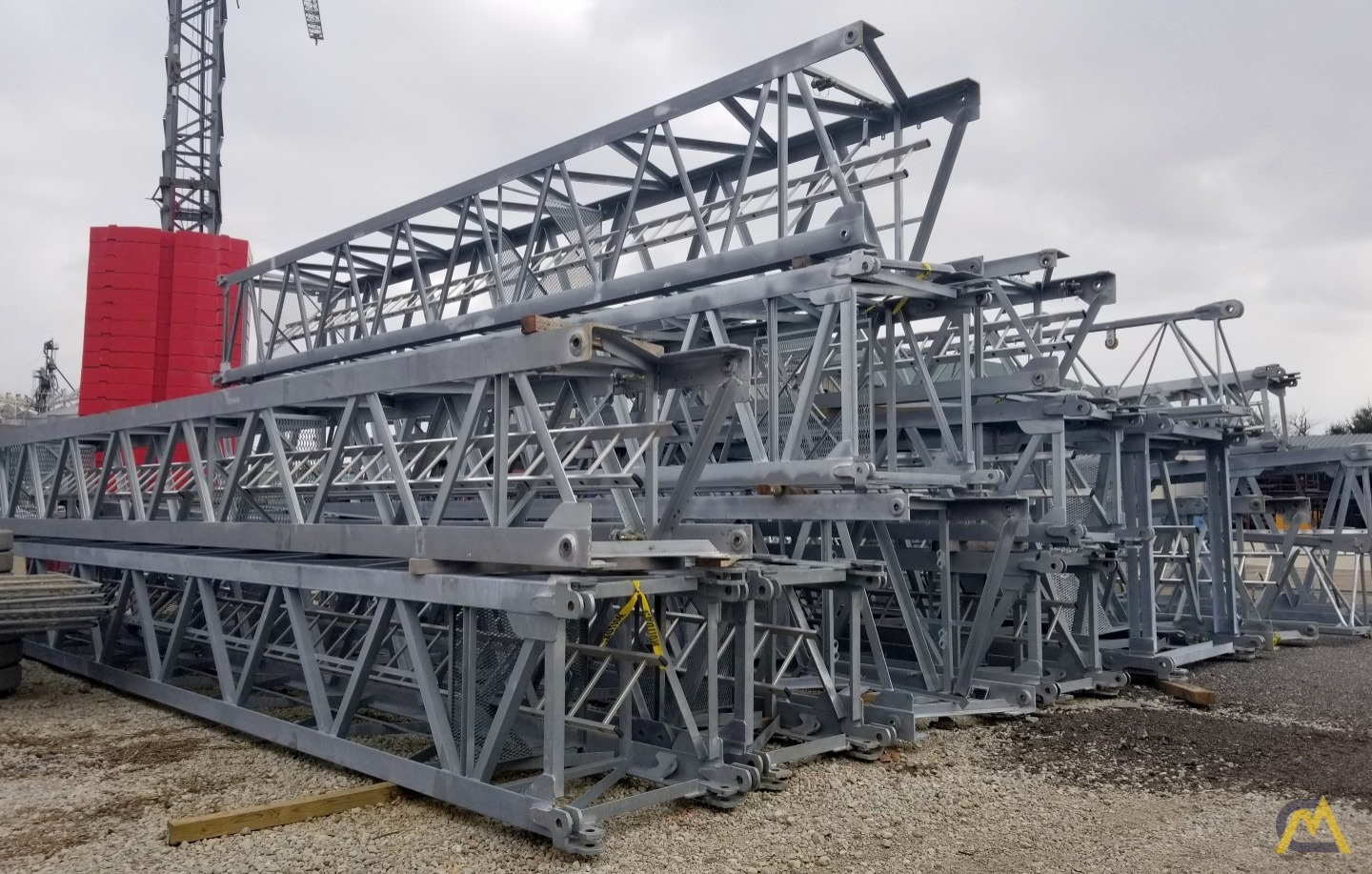 (2) San Marco SMT 520 Flat Top Tower cranes starting at $200,000 USD 5