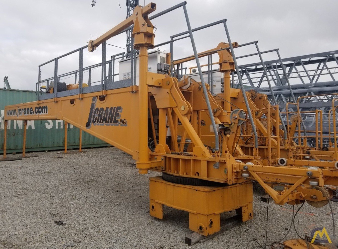 (2) San Marco SMT 520 Flat Top Tower cranes starting at $200,000 USD 2