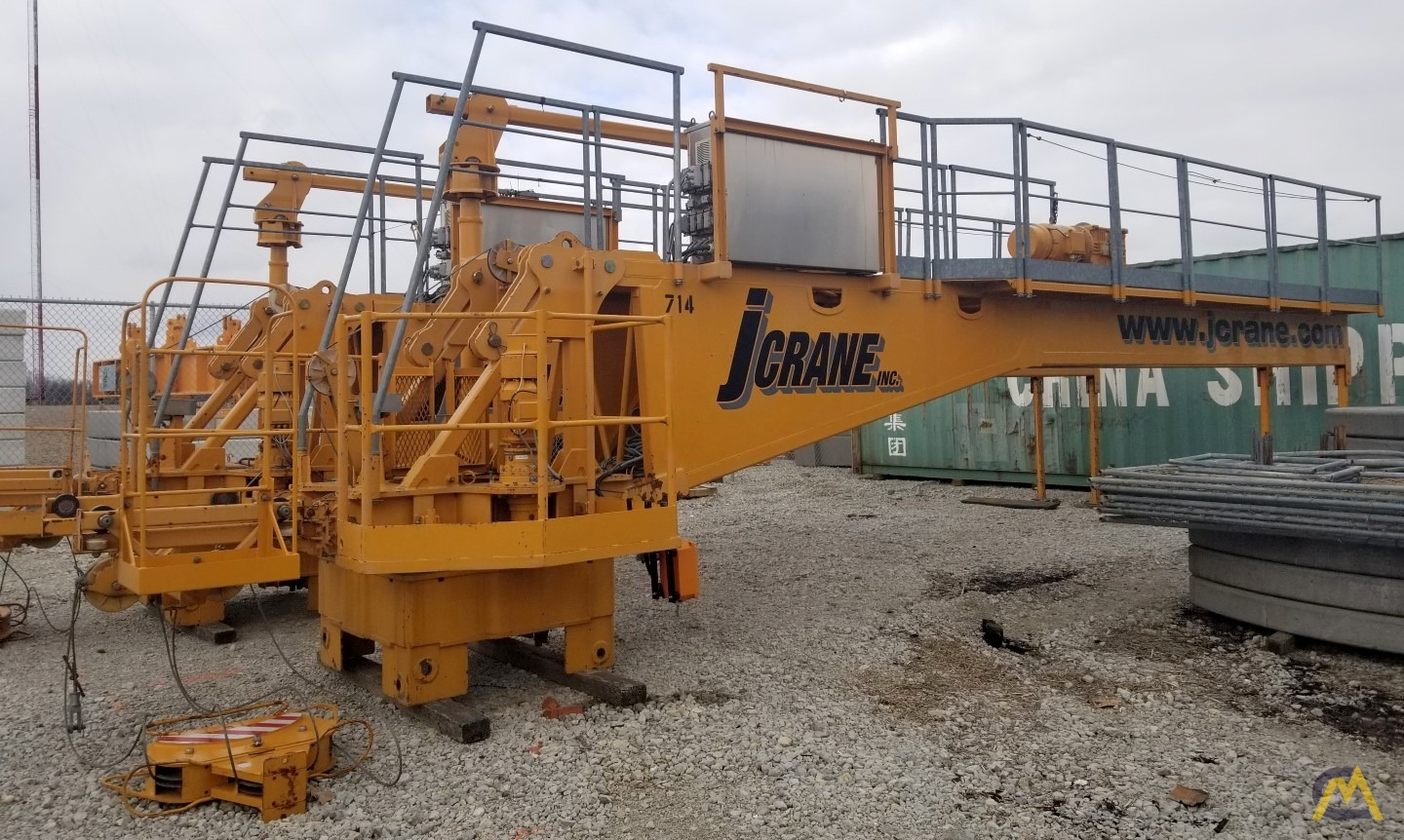 (2) San Marco SMT 520 Flat Top Tower cranes starting at $200,000 USD 3