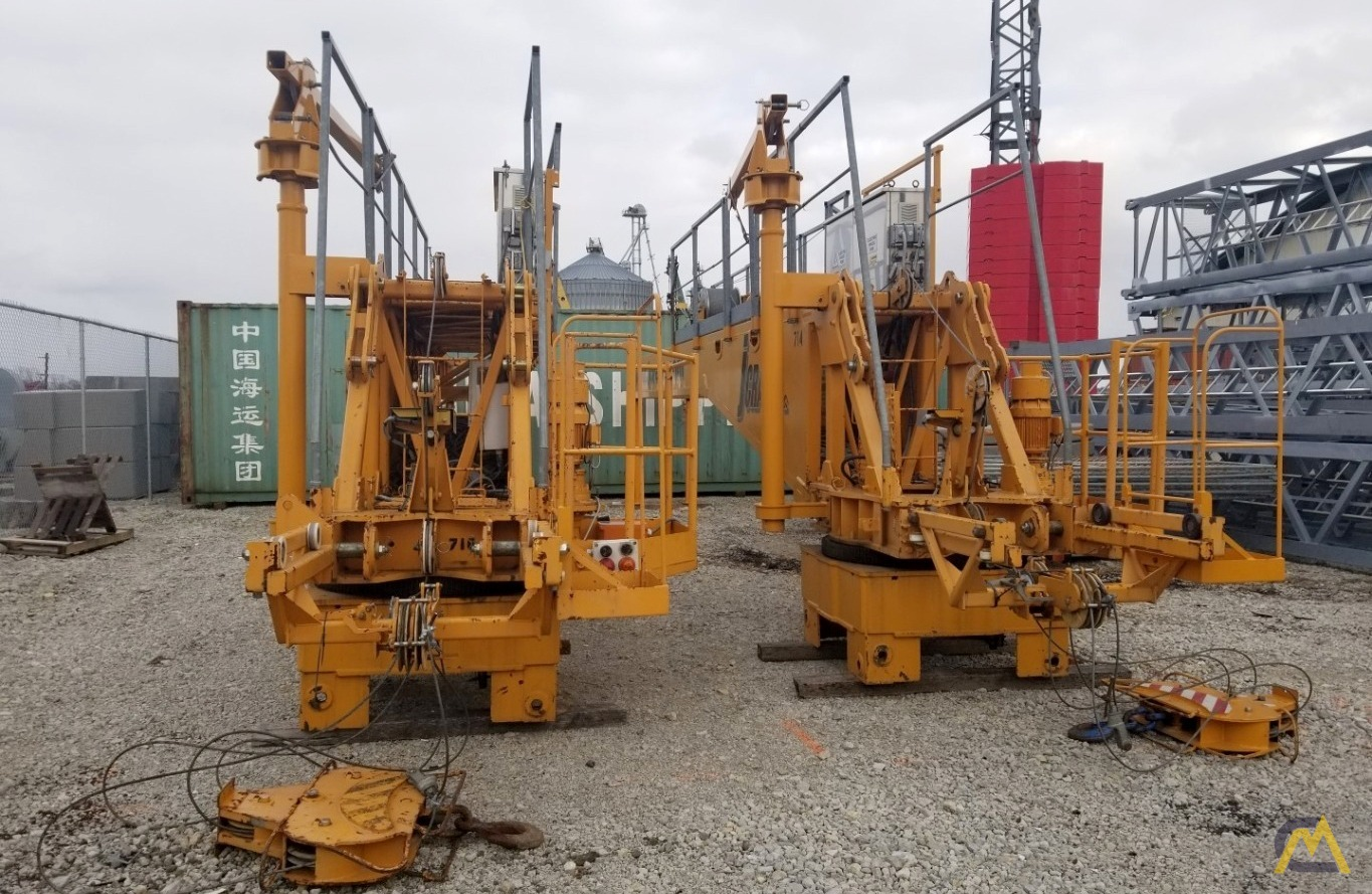 (2) San Marco SMT 520 Flat Top Tower cranes starting at $200,000 USD 1