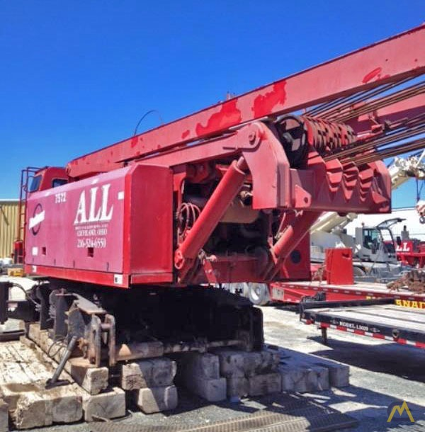 2000 Manitowoc 999 275-Ton Lattice Boom Crawler Crane 0