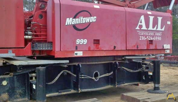 2001 Manitowoc 999 275-Ton Lattice Boom Crawler Crane 1