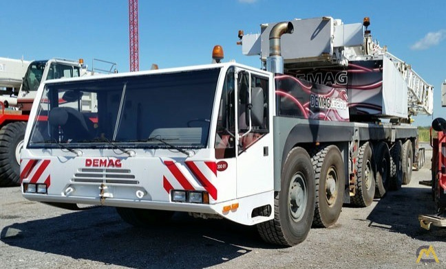 2002 Demag AC 180 200-Ton All Terrain Crane 0