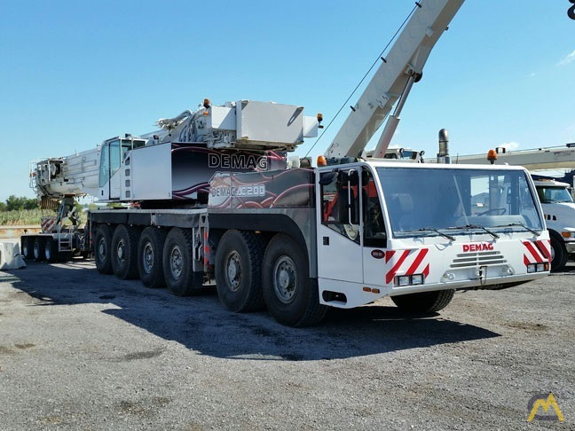 2002 Demag AC 180 200-Ton All Terrain Crane 3