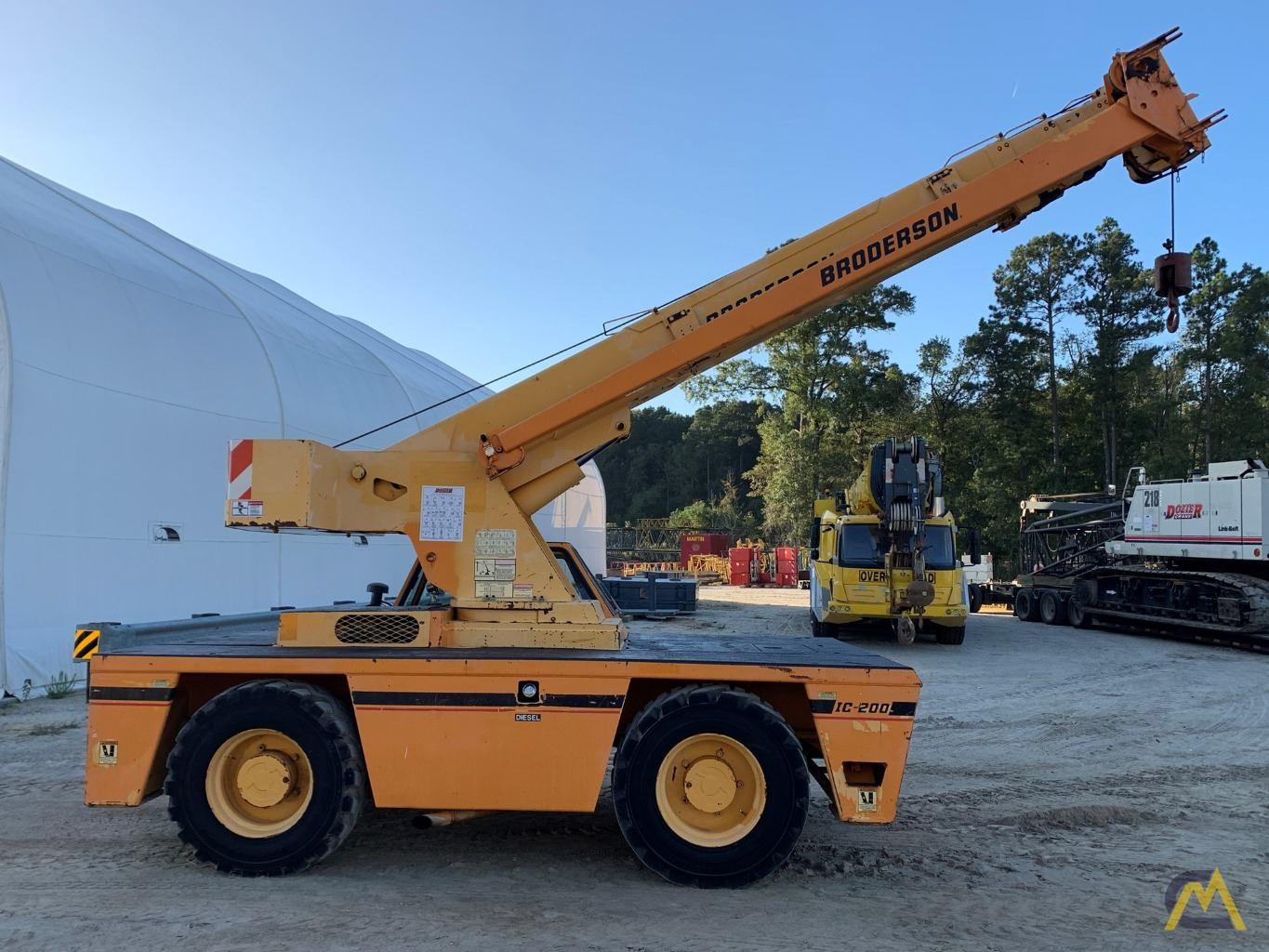 2005 Broderson IC-200-3F 15-Ton Carry Deck Crane 1