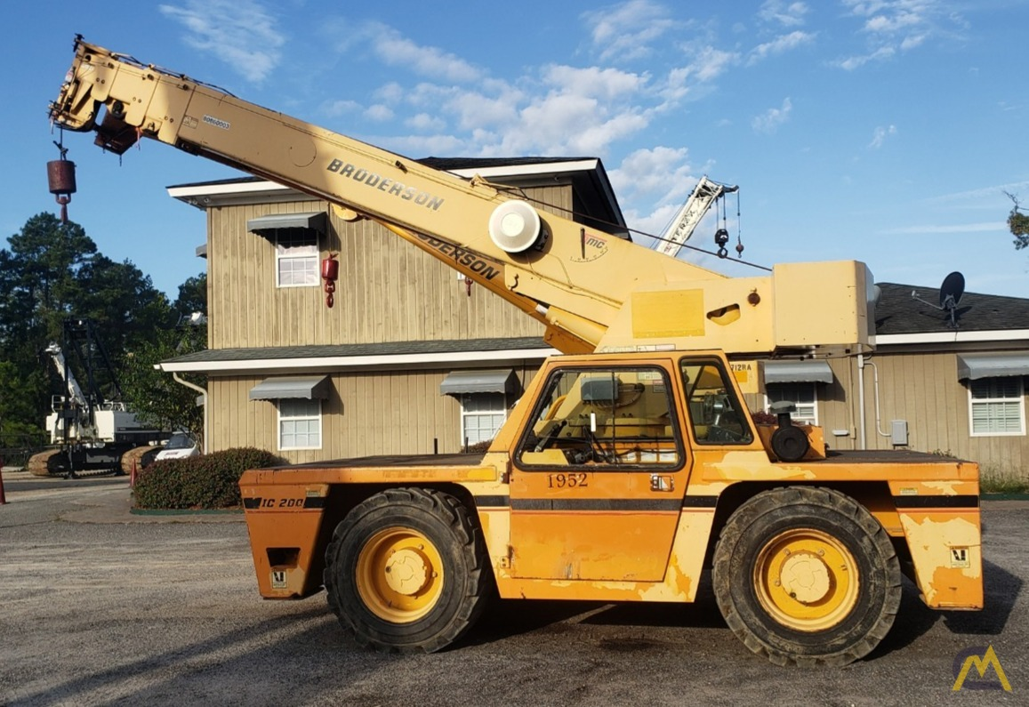 2005 Broderson IC-200-3F 15-Ton Carry Deck Crane 0