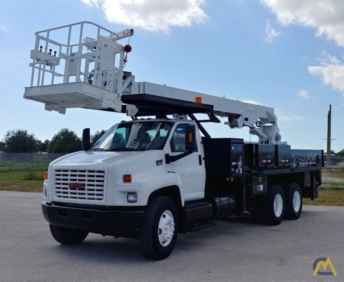 2006 GMC C8500 6x4 Manitex SC75 3-Ton Sign Crane - 26676 0