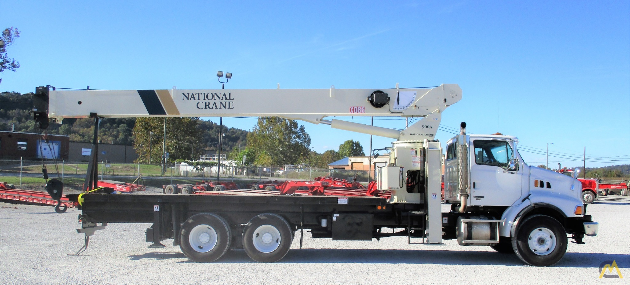 National 9103A 26-Ton Boom Truck on Sterling 0