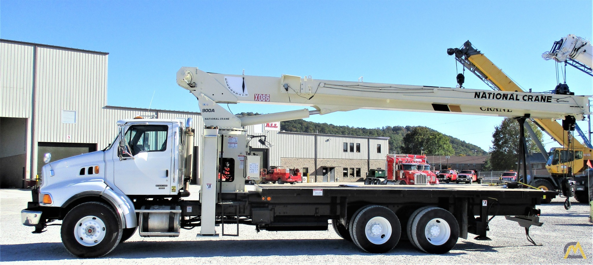 National 9103A 26-ton Boom Truck Crane on Sterling LT9513 1