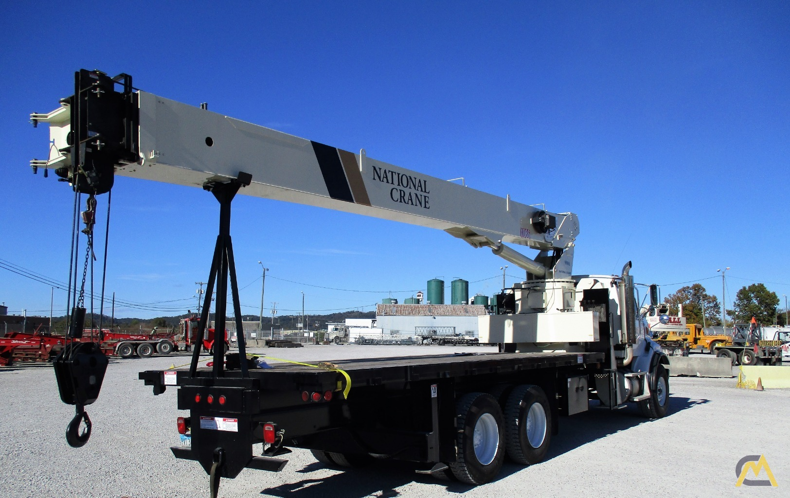 National 9103A 26-ton Boom Truck Crane on Sterling LT9513 5