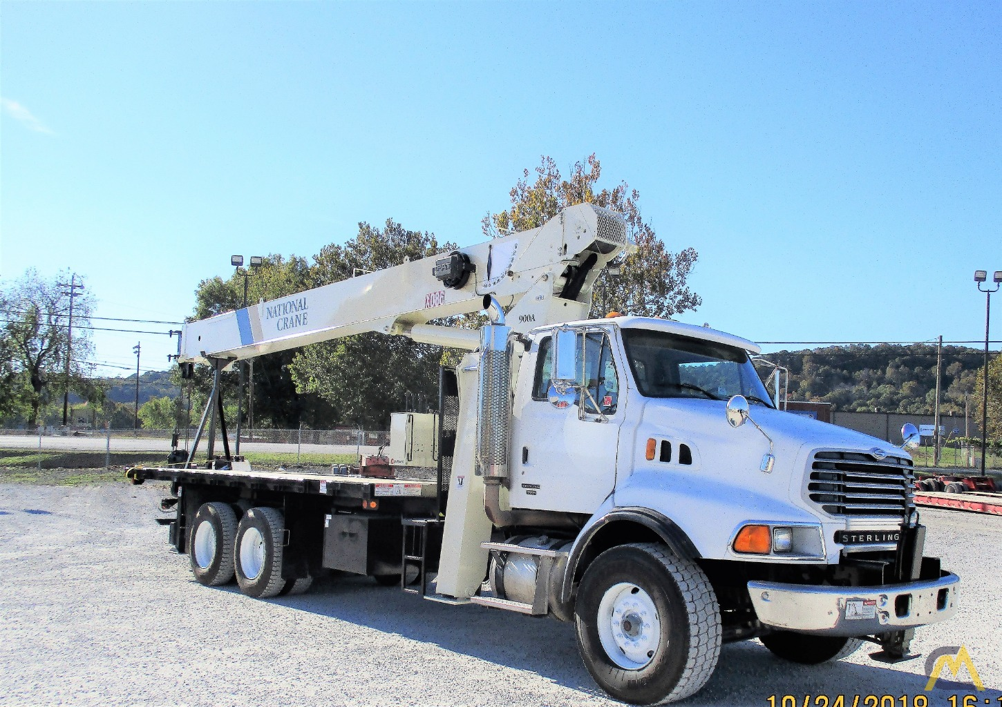 National 9103A 26-ton Boom Truck Crane on Sterling LT9513 2