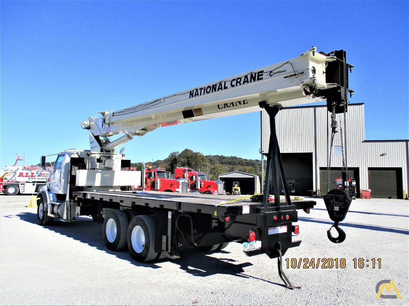 National 9103A 26-ton Boom Truck Crane on Sterling LT9513 4