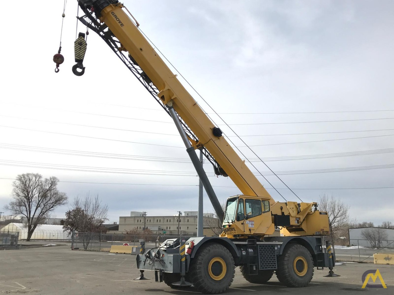 Grove RT875E 75-Ton Rough Terrain Crane 0