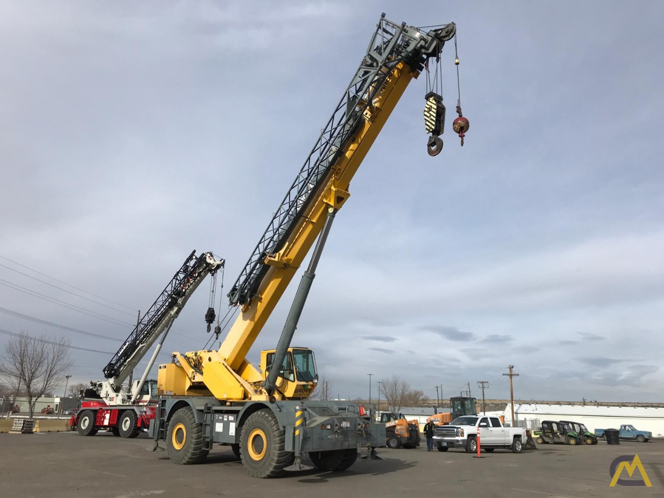 Grove RT875E 75-Ton Rough Terrain Crane 3