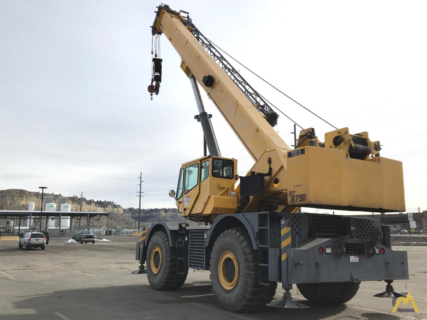 Grove RT875E 75-Ton Rough Terrain Crane 7