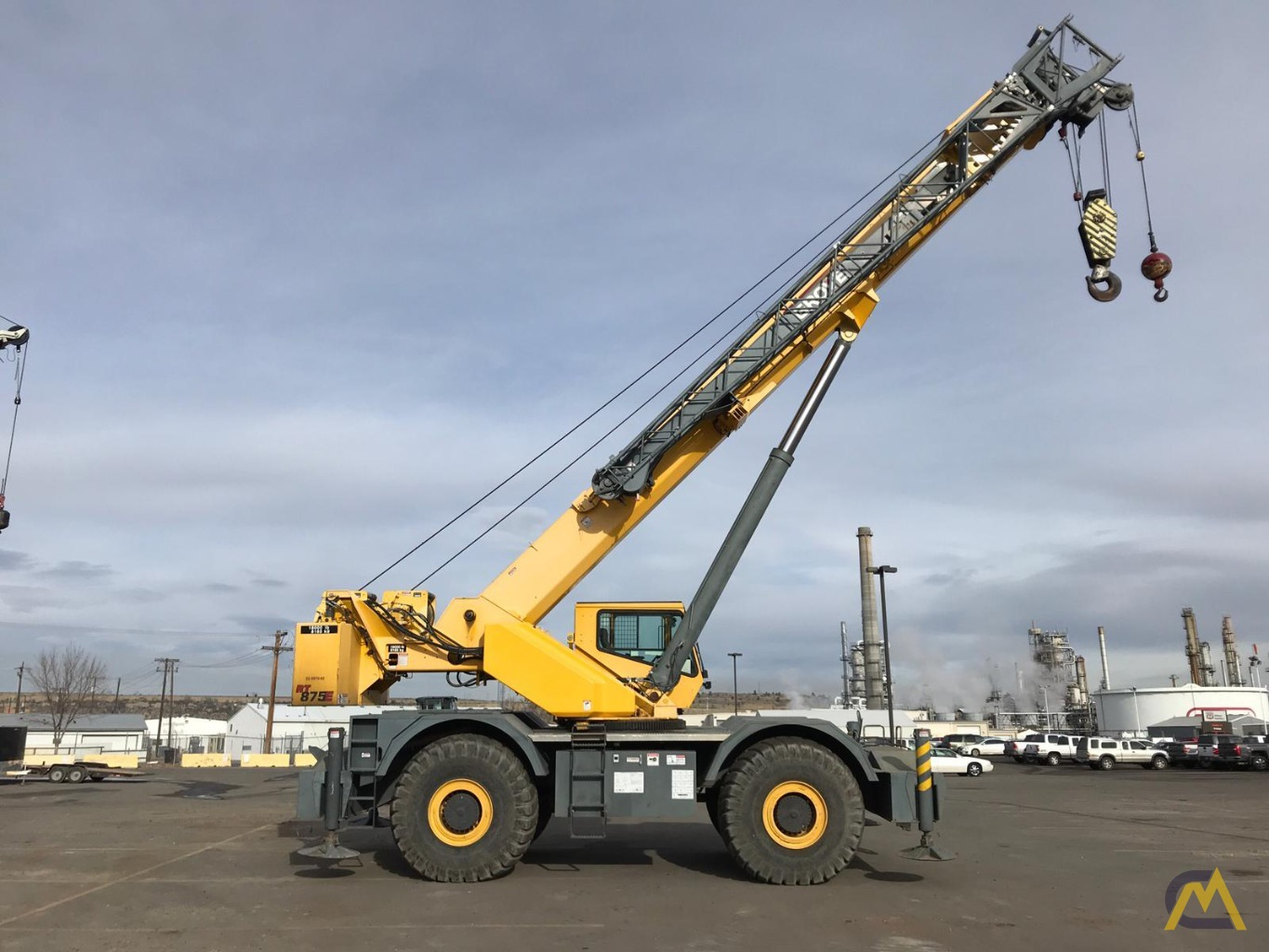 Grove RT875E 75-Ton Rough Terrain Crane 15