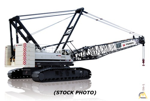 2007 Terex HC165 165-Ton Lattice Boom Crawler Crane 0