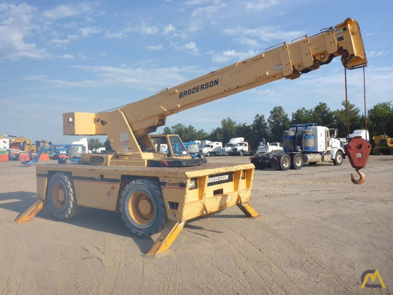 2008 Broderson IC-200-3F 15-Ton Carry Deck Crane 2