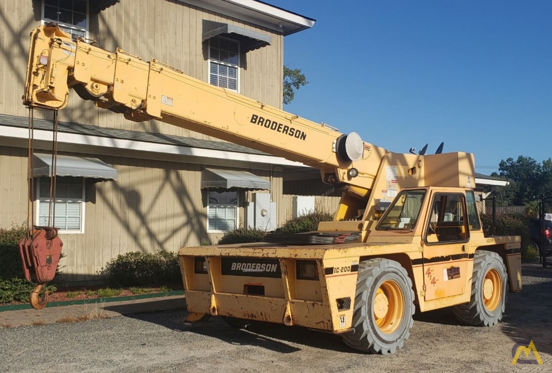 2008 Broderson IC-200-3F 15-Ton Carry Deck Crane 0