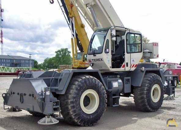 2008 TEREX RT335 For Sale Terex Rough Terrain Cranes